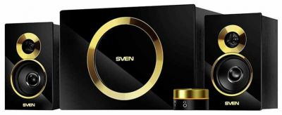 Колонки Sven AC MS-1085 (AC MS-1085 (Gold-Black) (46Вт)) Изображение №1