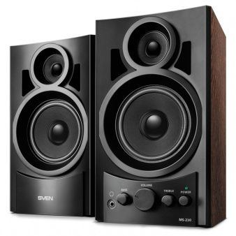 Колонки Sven Speakers MS-230 black (Speakers MS-230 black) Изображение №1