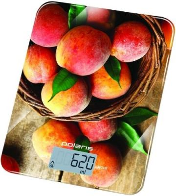 Весы кухонные Polaris PKS 1043DG Peaches (PKS 1043DG Peaches) Изображение №1