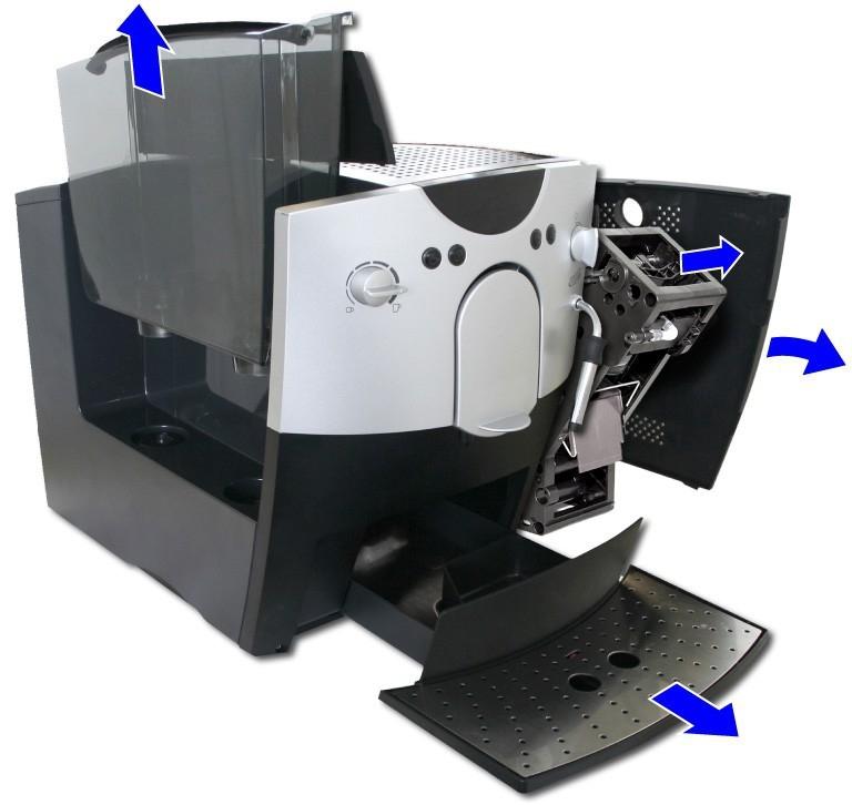 bosch coffee machine instructions
